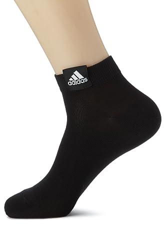 Adidas Ankle Plain T3P - Calcetines para niño, color negro, talla 31-34: Amazon.es: Zapatos y complementos