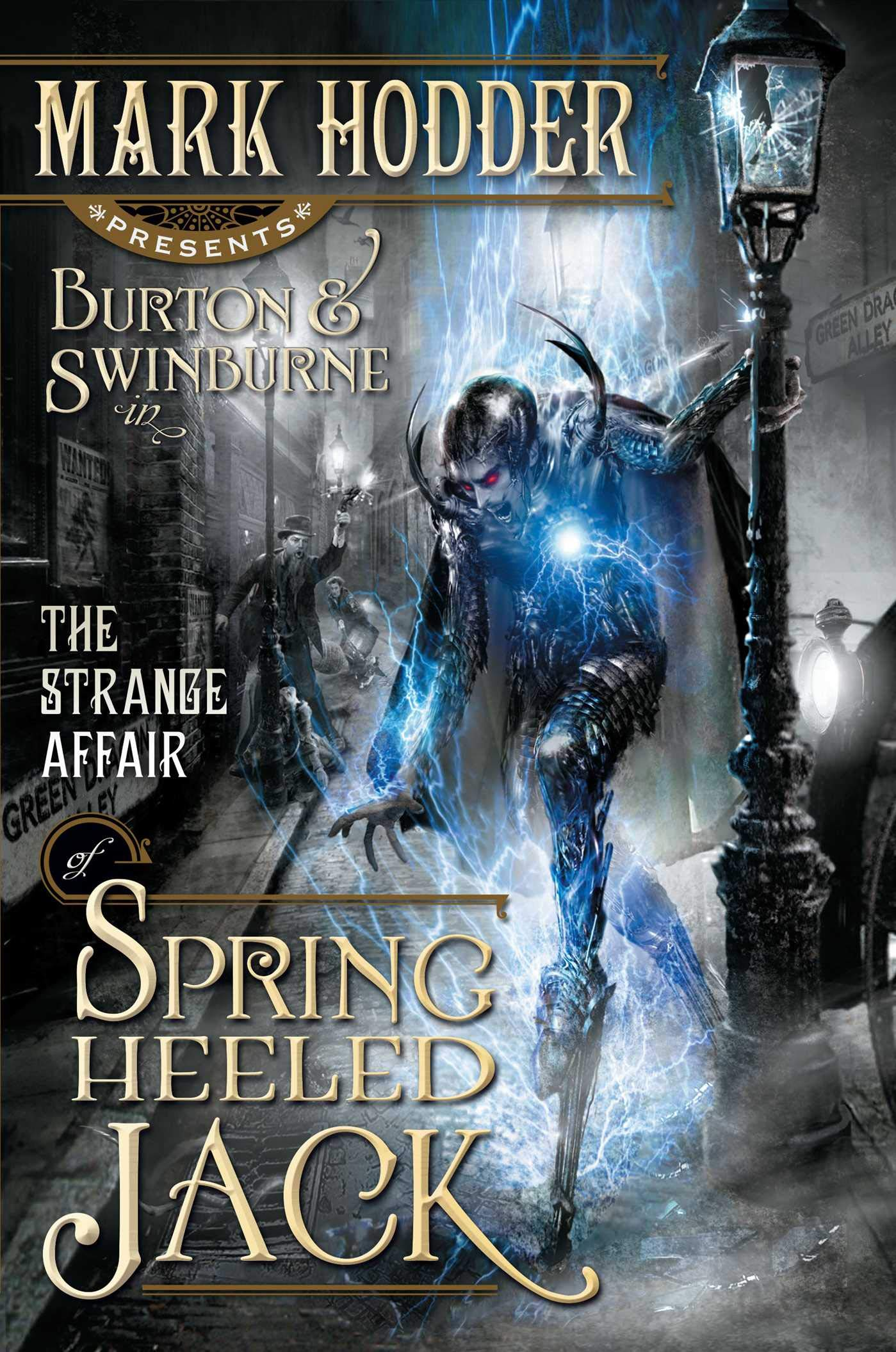 The Strange Affair of Spring Heeled Jack (1) (A Burton & Swinburne ...