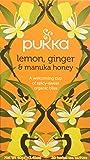 Pukka Tisane Bio Citron Gingembre Miel de Manuka 20 Sachets 40 g - Lot de 2