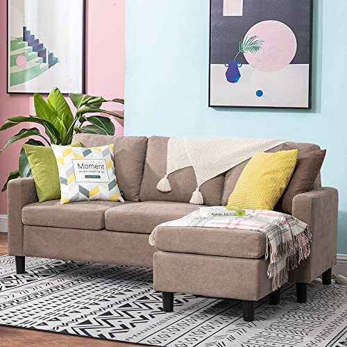 Walsunny Convertible Sectional Sofa