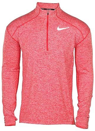 e696d0164909b Amazon.com: Nike Men's Element Dri-Fit Half Zip Running Shirt ...