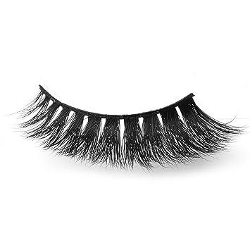 55d925c5a9e Arimika 3D Long Thick Voluminous Dramatic Looking Wispy Handmade Mink False  Eyelashes For Makeup 1 Pair Pack: Amazon.ca: Beauty