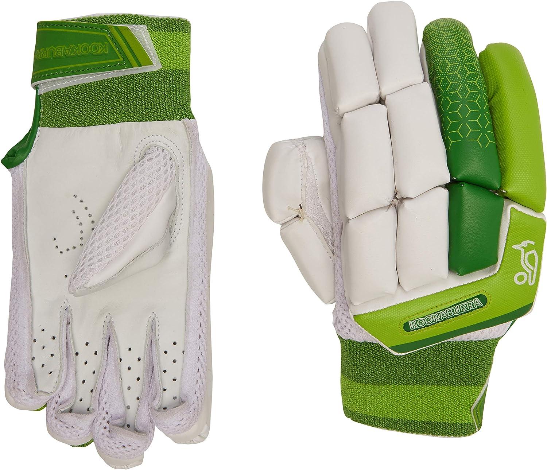 Small Junior Left Hand White KOOKABURRA Boys 2020 Kahuna 4.1 Batting Gloves