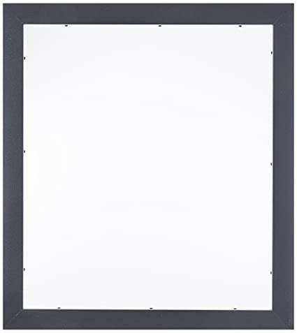 Amazon.com - ArtToFrames 14x16 inch Satin Black Picture Frame ...