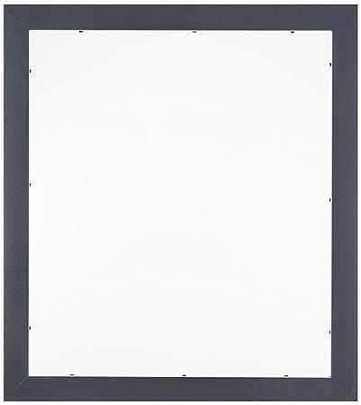 Amazon.com - ArtToFrames 14x16 inch Satin Black Picture Frame ...