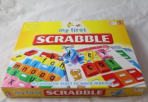 My First Scrabble by Mattel: Amazon.es: Juguetes y juegos