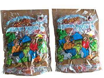 Amazon.com : Alvbro Pollito Asado Mexican Candy (Little ...