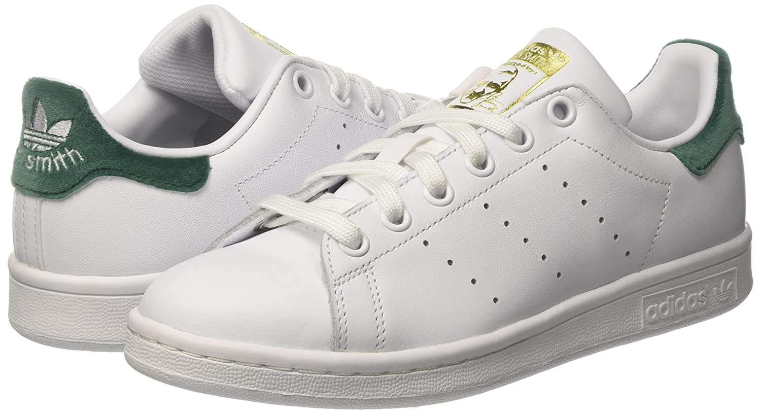 Adidas Stan Smith J, Sneakers Basses Mixte Enfant: Amazon.fr: Chaussures et Sacs
