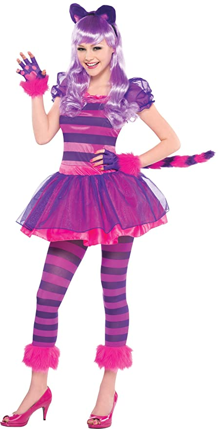 fe16e00e25326 Amscan International - Costume da Stregatto per ragazze
