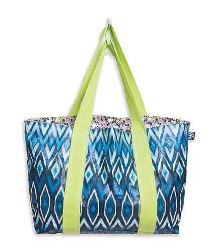 c4c1c7387816 Amazon.com: MIXT Studio Tyvek Travel Reversible Tote Bag Water ...