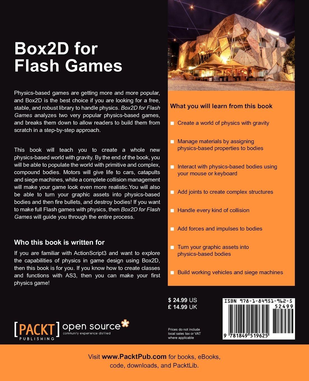 e-book Box2D for Flash Games
