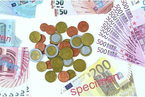 EDUPLAY Set de Monedas y Billetes Euro: EDUPLAY: Amazon.es: Juguetes y juegos