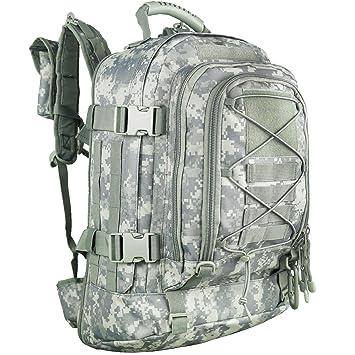 Amazon.com: PANS - Mochila de viaje militar extensible ...
