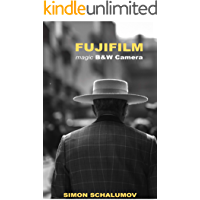 FUJIFILM's magic Black and White Street Photography Camera, the Fuji x100F book cover