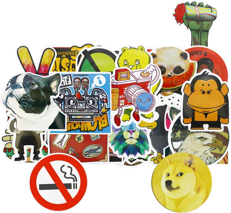 Skateboard Stickers Laptop Stickers.