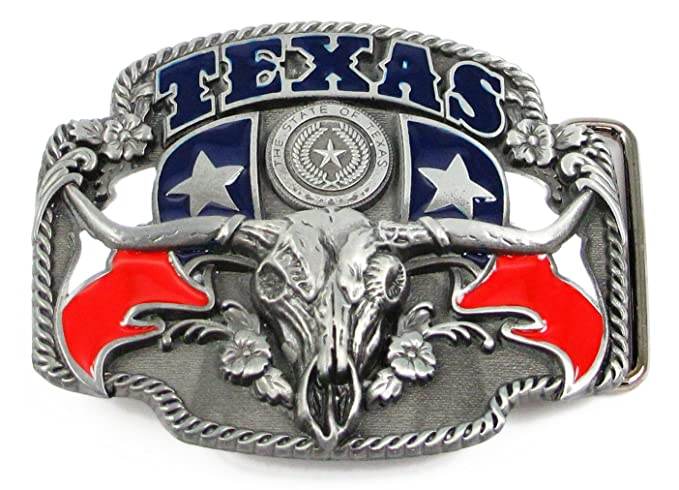 Amazon.com  The State of Texas Belt Buckle  Clothing 594885da5