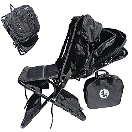 Chair-Pak Best Backpack Chair Lightweight Comfortable Rugged Portable Easy  to Use Folding Camping Chair f07077e8ce3ef