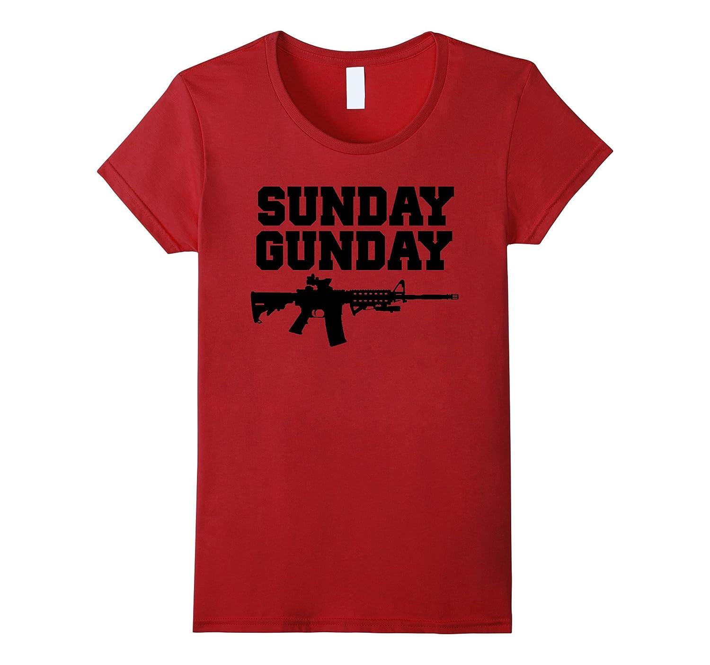 SUNDAY GUNDAY RIGHTS SHIRT Large-Xalozy