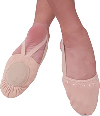 XS Pink Freedom Canvas Half Sole