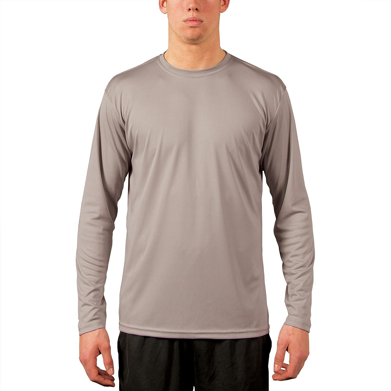 Vapor Apparel メンズ UPF 50+ UV /サンプロテクションロングスリーブTシャツ B00F9LL9PU M|アスレチックグレー アスレチックグレー M