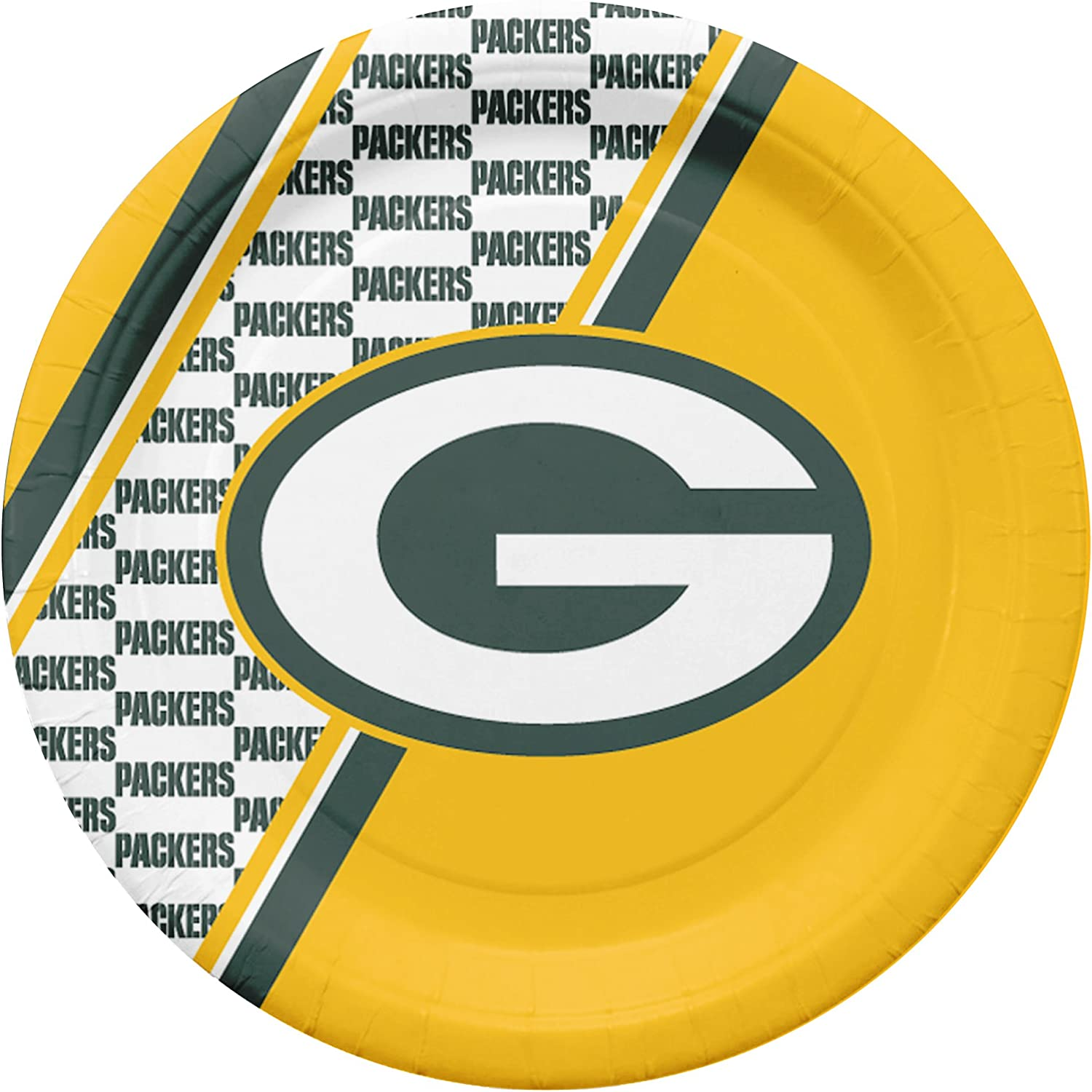 NFL GREEN BAY PACKERS PLASTIC TABLE COVER ~ Birthday Party Supplies Cloth Yellow