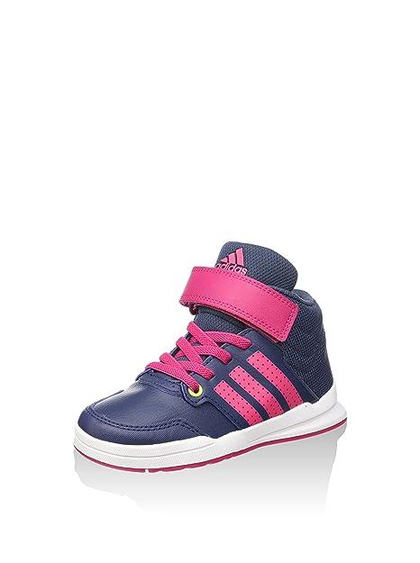 adidas Jan BS 2 Mid C, Zapatillas-ADIDAS-B23908-Niño para Niños, Gris/Rosa, 28 EU: Amazon.es: Zapatos y complementos