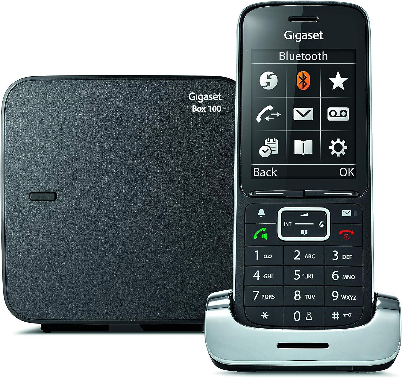 Gigaset SL450 - Teléfono Inalámbrico con Manos Libres - Pantalla en color - Gran Conectividad - Bluetooth