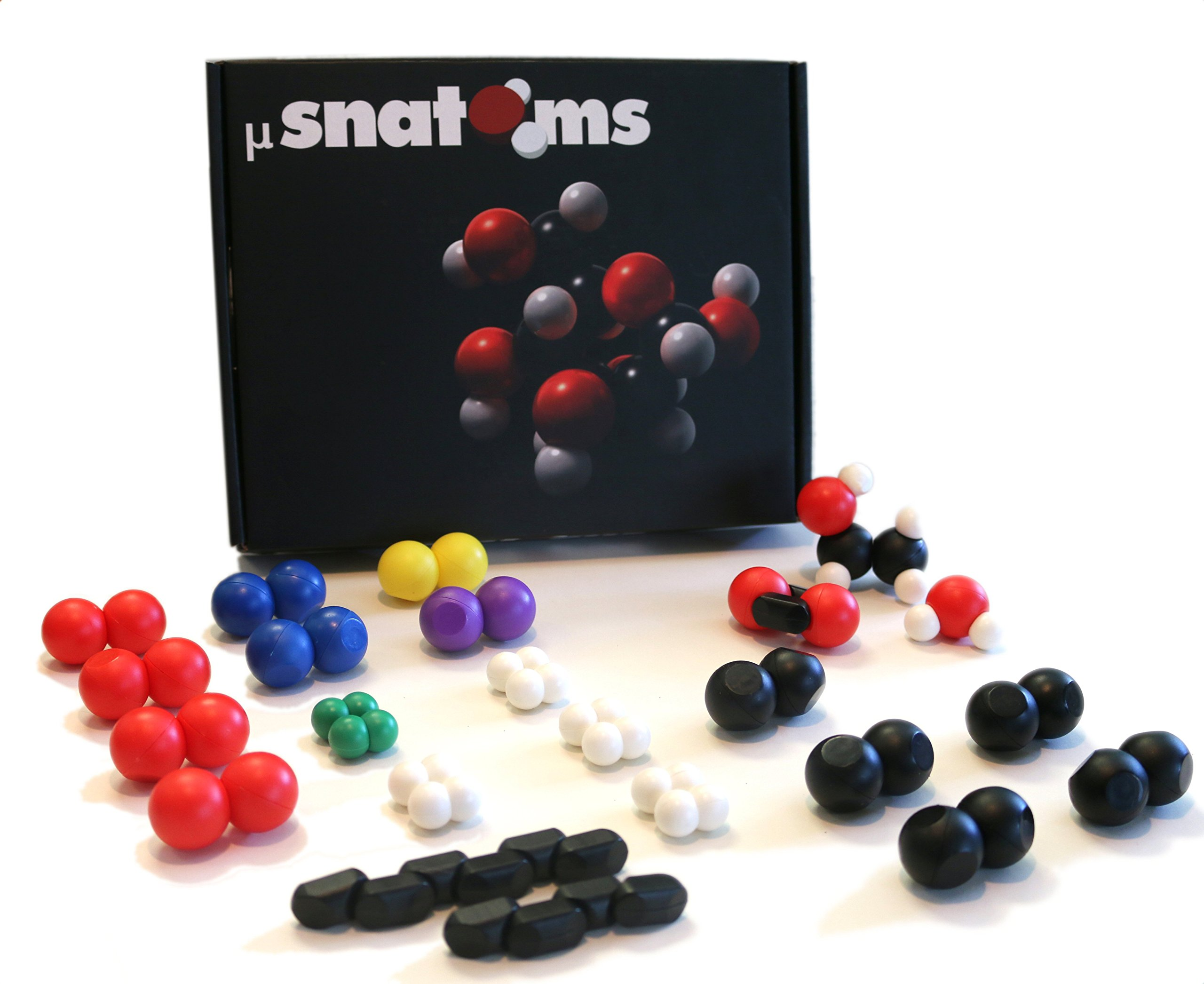 Snatoms MicroSnatoms Magnetic Molecular Building Kit