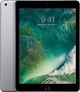 Apple iPad 9.7' with WiFi, 32GB, Space Gray - MP2F2LL/A (Renewed)