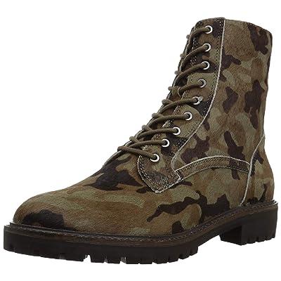 Lucky Brand Women's LK-IDARA2 Combat Boot, camo, | Ankle & Bootie