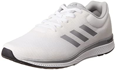 adidas Men's Mana Bounce 2 M Aramis Ftwwht, Silvmt and Clonix Running Shoes  - 8