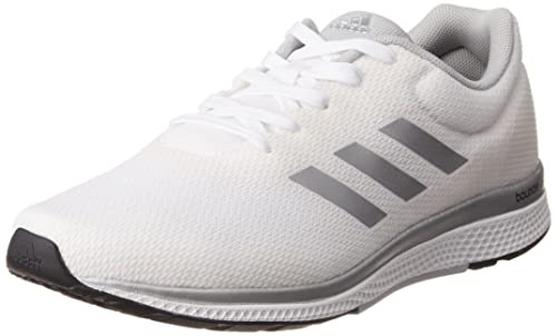 ad7aceaa6619a adidas Men's Mana Bounce 2 M Aramis Running Shoes, Grey (Ftwr White/silver