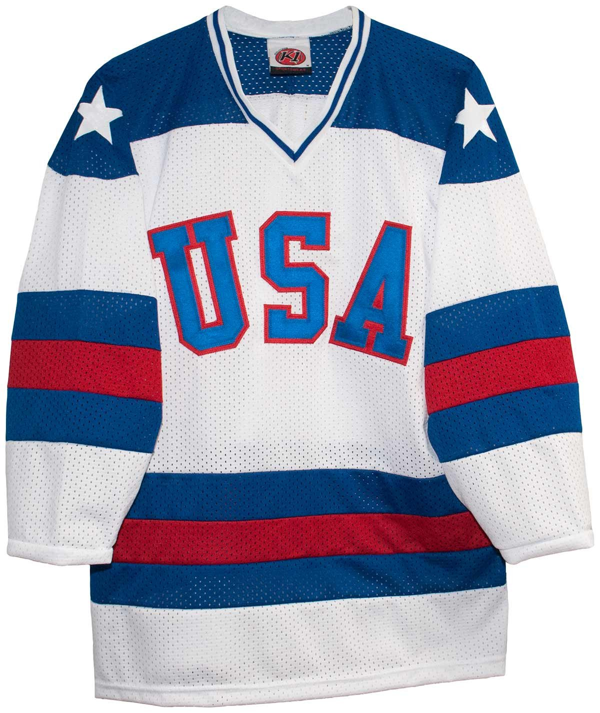 1980 USA Olympic *Miracle On Ice* Replica Home Jersey - Size XX-Large