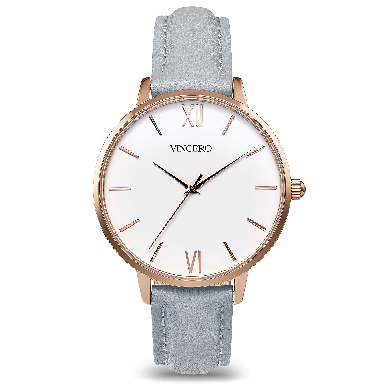 240c1927b Vincero Luxury Women's Eros Wrist Watch with a Leather Watch Band — 38mm  Analog Watch — Japanese Quartz Movement