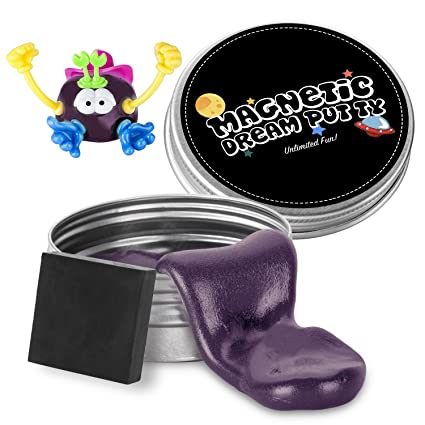 ILC Magnetic Putty Playdough Creative Magnet Toy Slime Stress Reliever for Kids and Adults for Fun