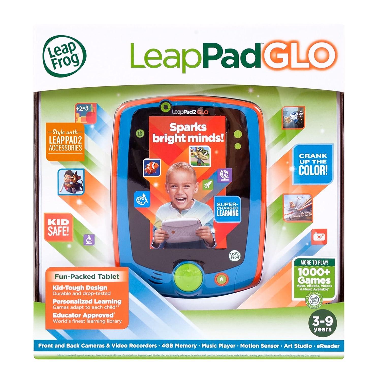 Amazon LeapFrog LeapPad Glo Kids Learning Tablet Teal Toys