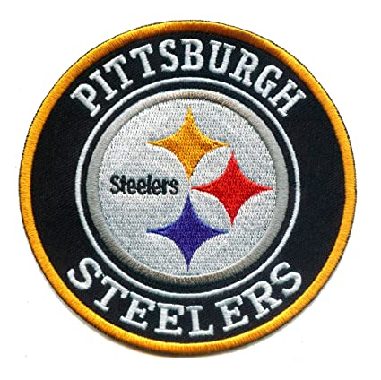 Pittsburgh Steelers Iron On Patch 4 Inch