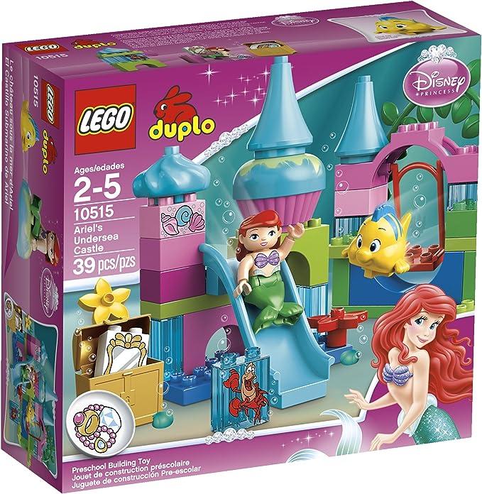 Lego Duplo Disney Ariel Little Mermaid Girl Figure Minifig People Princess  NEW