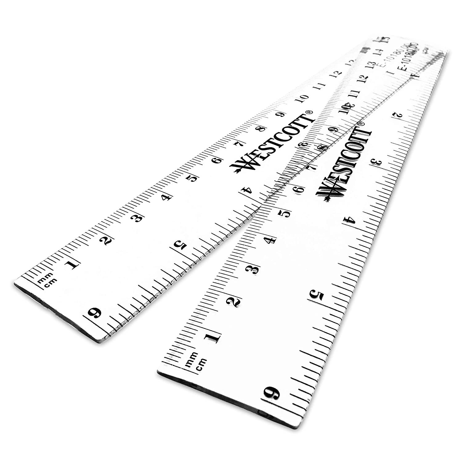 Helix 30cm//12 Inch Clear Plastic Rulers Singles Or Pack of 10