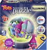 Ravensburger - 12138 - Puzzle - 3D Trolls Lumineux - 72 Pièces