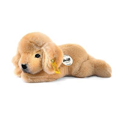 Steiff Little Friend Golden Retriever Puppy Lumpi Plush, Golden: Toys & Games