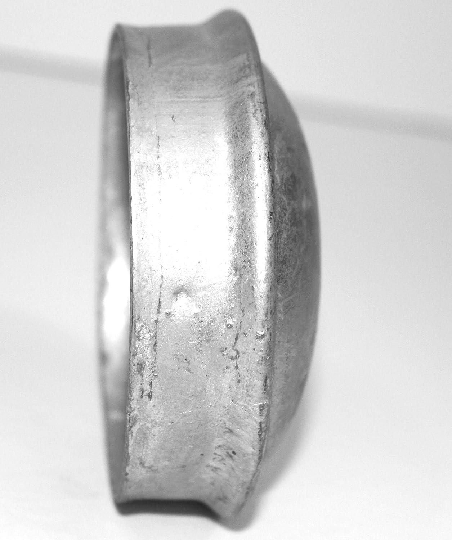 Single Piece BestPro 3 1//2 Inch Galvanized Steel Chain Link Fence Post Cap Heavy Duty
