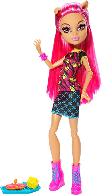 Amazon Com Monster High Creepateria Howleen Wolf Doll Toys Games