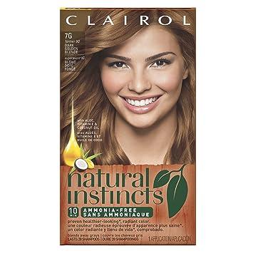 Amazon Com Clairol Natural Instincts 7g 9g Golden Honey Dark