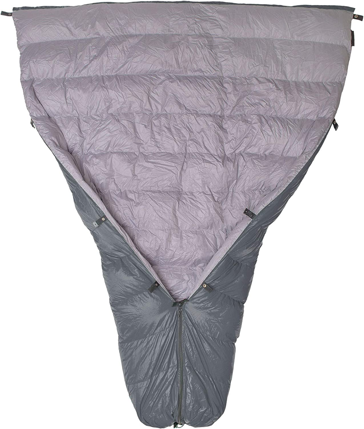 Paria Outdoor Products Thermodown 15 Degree Down Sleeping Quilt