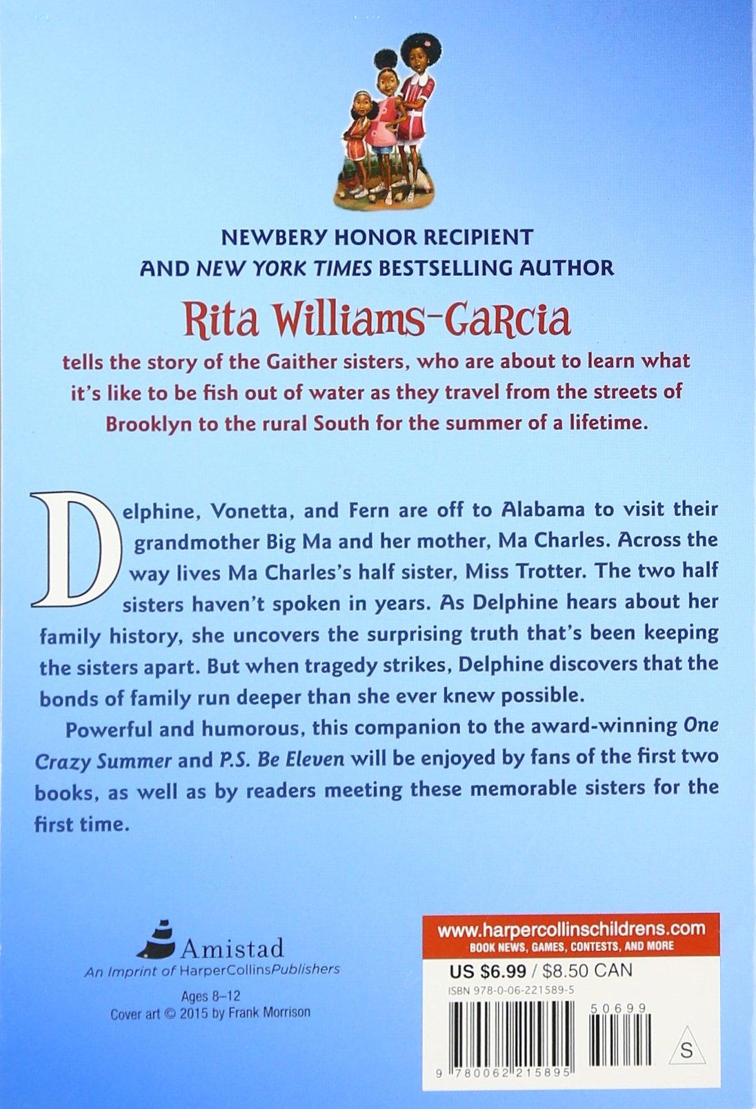 Gone Crazy In Alabama: Rita Williamsgarcia: 9780062215895: Amazon:  Books
