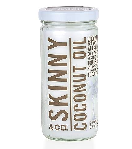Skinny & Co. Aceite de coco para piel y cabello 100% virgen ...