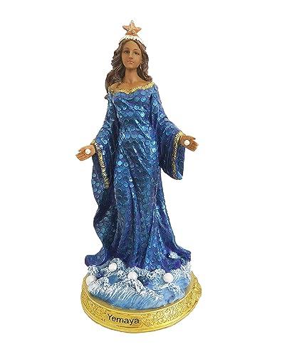 Santo Orisha Yemaya Orisha Statue Yemaya Estatua Santeria Statue 8 Inches