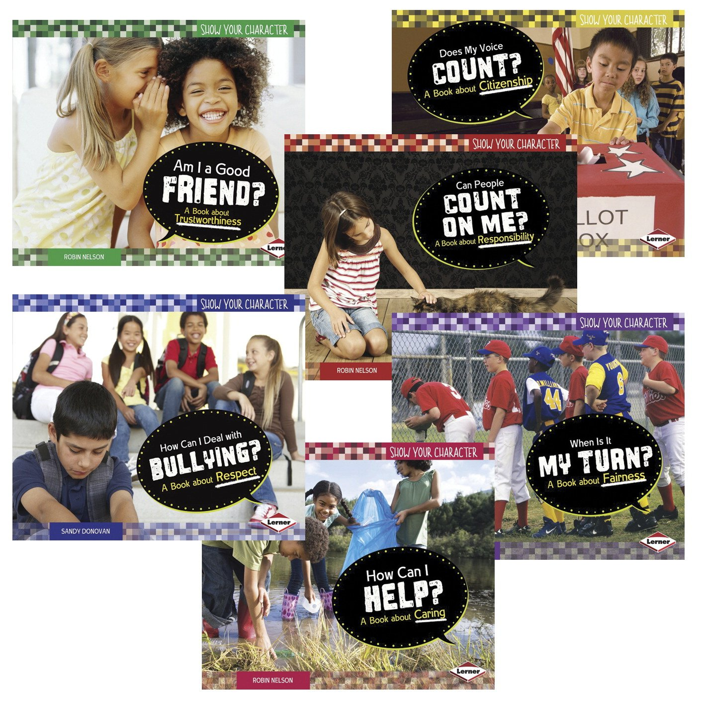 School Specialty Show Your Character Book Set, Set of 6