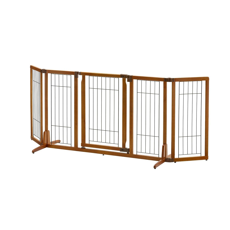 Exceptionnel Amazon.com : Richell Wide Premium Plus Freestanding Pet Gate With Door : Pet  Supplies